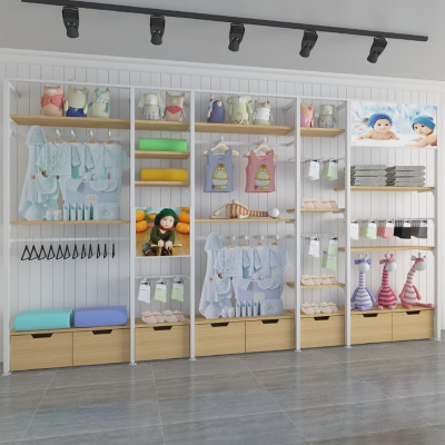 Maternal and child shop by wall side cabinet 1