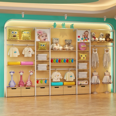 Maternal and child shop by wall side cabinet 2