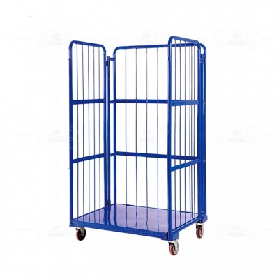 Spray plastic warehouse cage C017