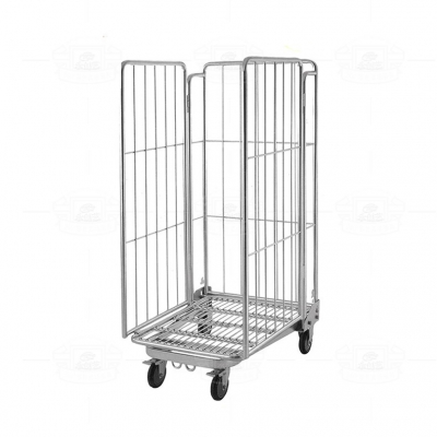 Galvanized warehouse cage C018