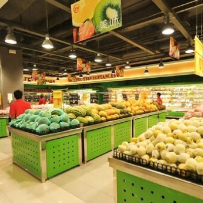广州超市果蔬货架要如何挑选和摆放?