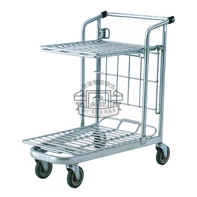 Galvanized cart C014